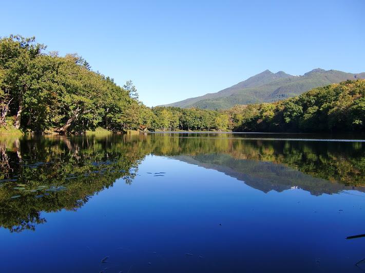 青空と四湖