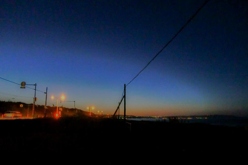 オホーツク海沿いに北上