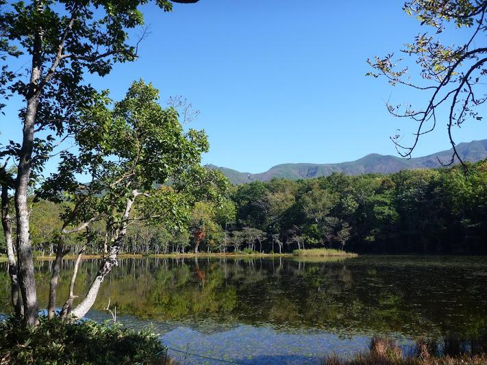 青空と二湖
