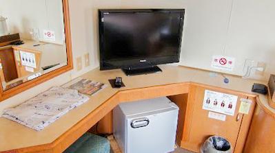 テレビや冷蔵庫、浴衣も