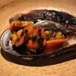 瀬戸貝のバター焼き