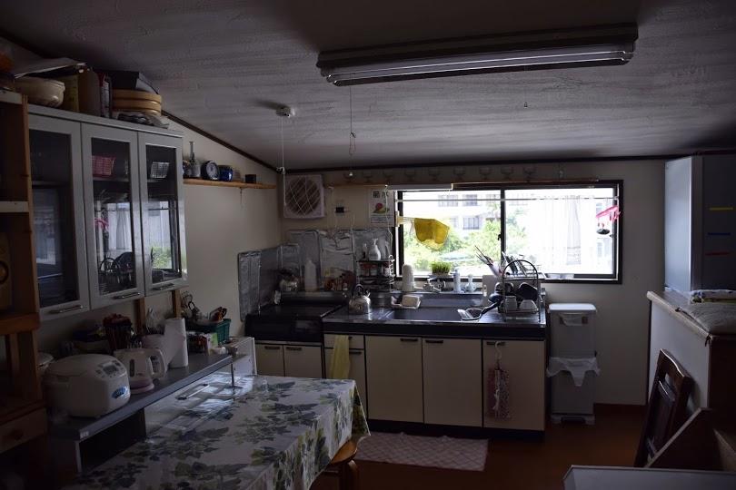 自炊可能なキッチン