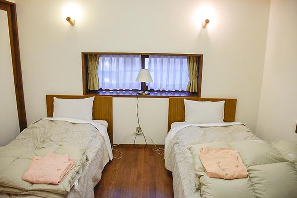 寝室(暖房設備なし)