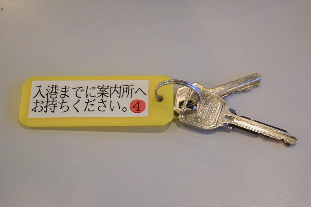ペットハウスとケージの鍵