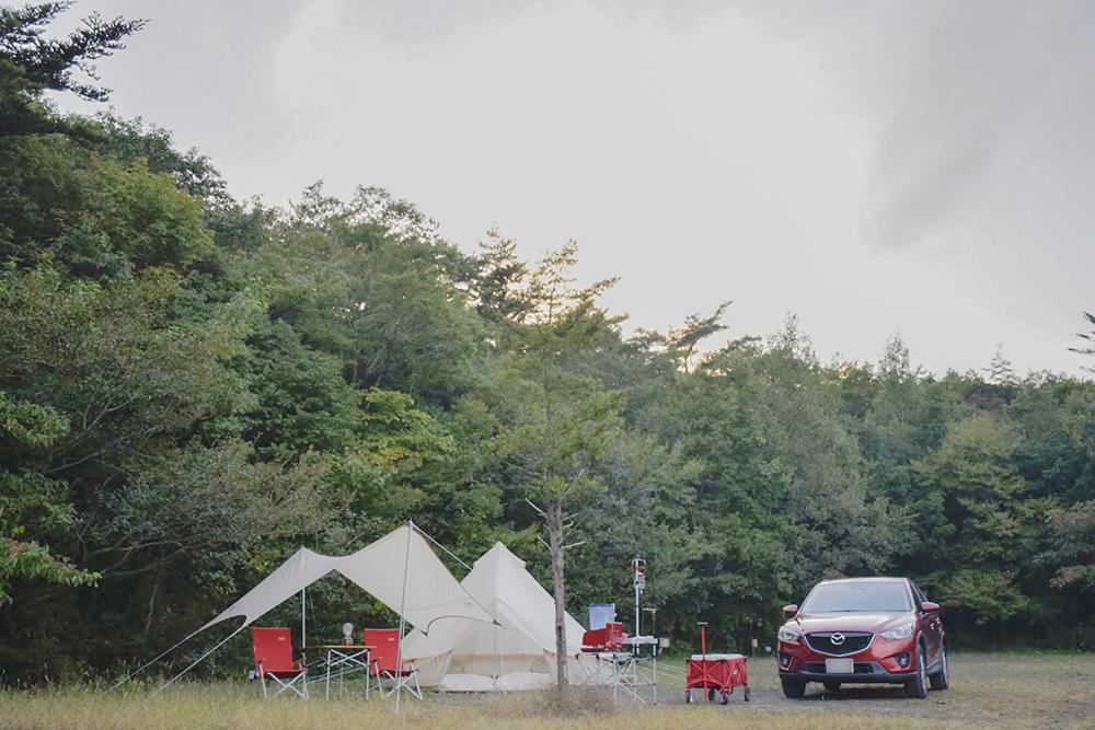 PICA富士西湖 テントサイト・ドッグラン 電源付き