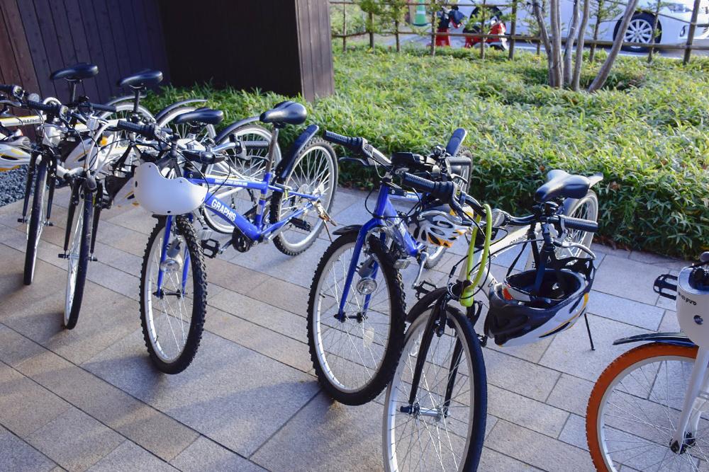 自転車の貸出しサービス