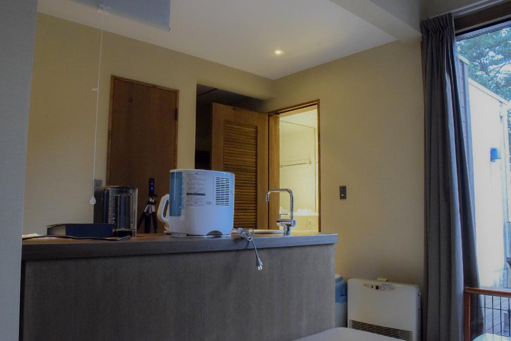 コーヒーマシーンや加湿器
