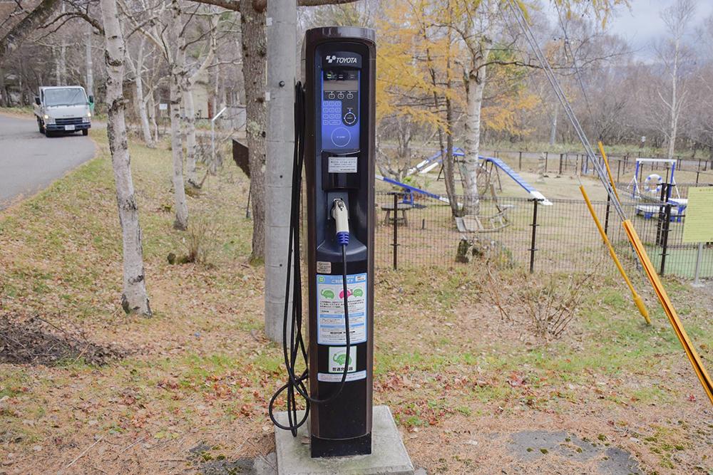 電気自動車の充電機