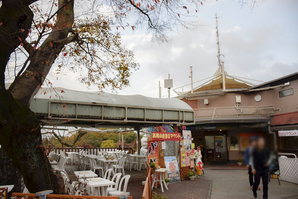 高尾山BBQマウント