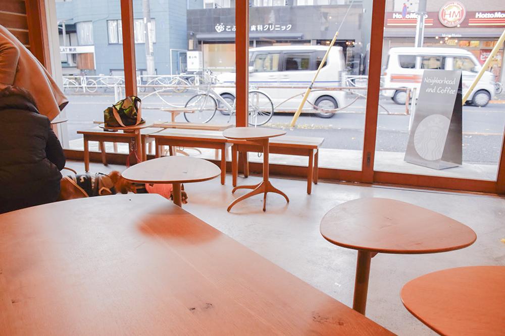 ローテーブルもあり