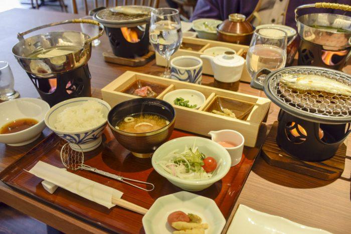 朝食(1日目)